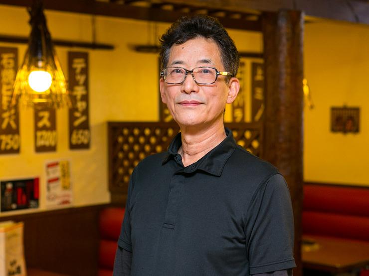 金豊 英学 氏